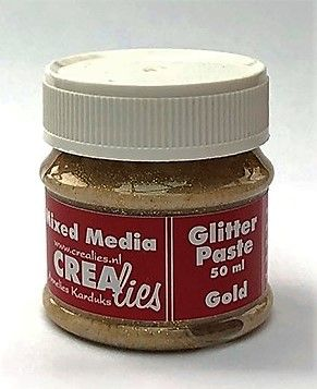 Crealies Glitter Paste - Gold